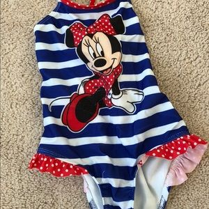 Other - Minnie Mouse bathing suit size 4t